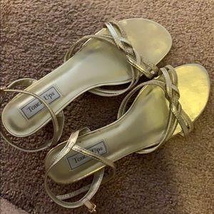 Gold Dress Sandals